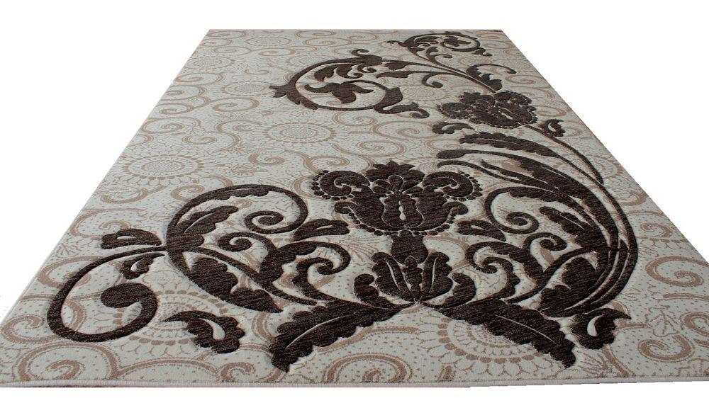 Fantastisch Teppich, Design Modern , 200x300 Cm, Natürliche Farbe, Schurwolle !