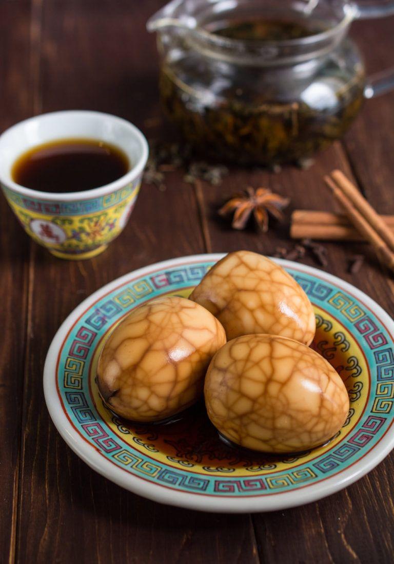 Chinese Tea Eggs | Recipe | Tea eggs, Food, Super healthy ...