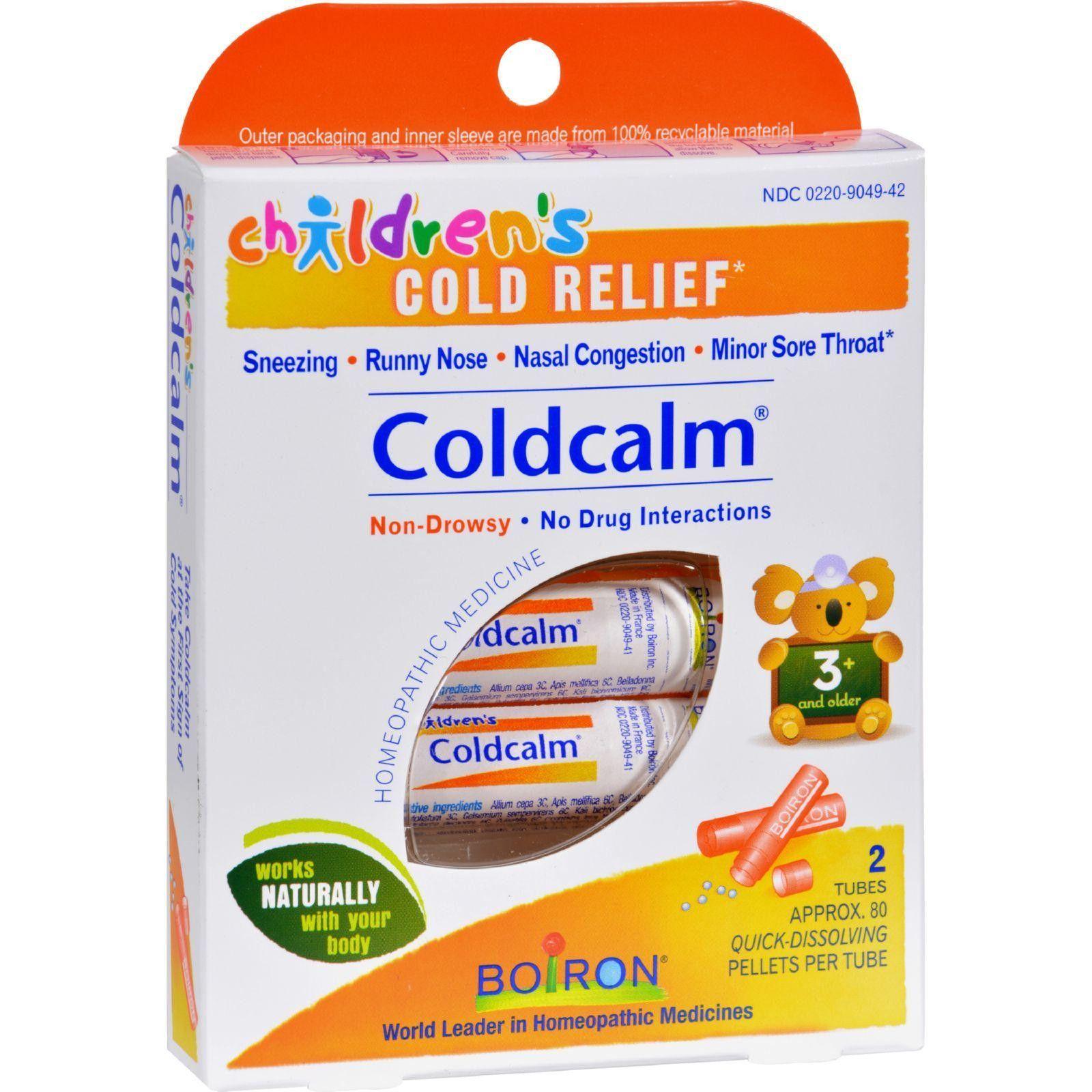 Boiron Children S Cold Calm Pellets 2 Doses Remedies