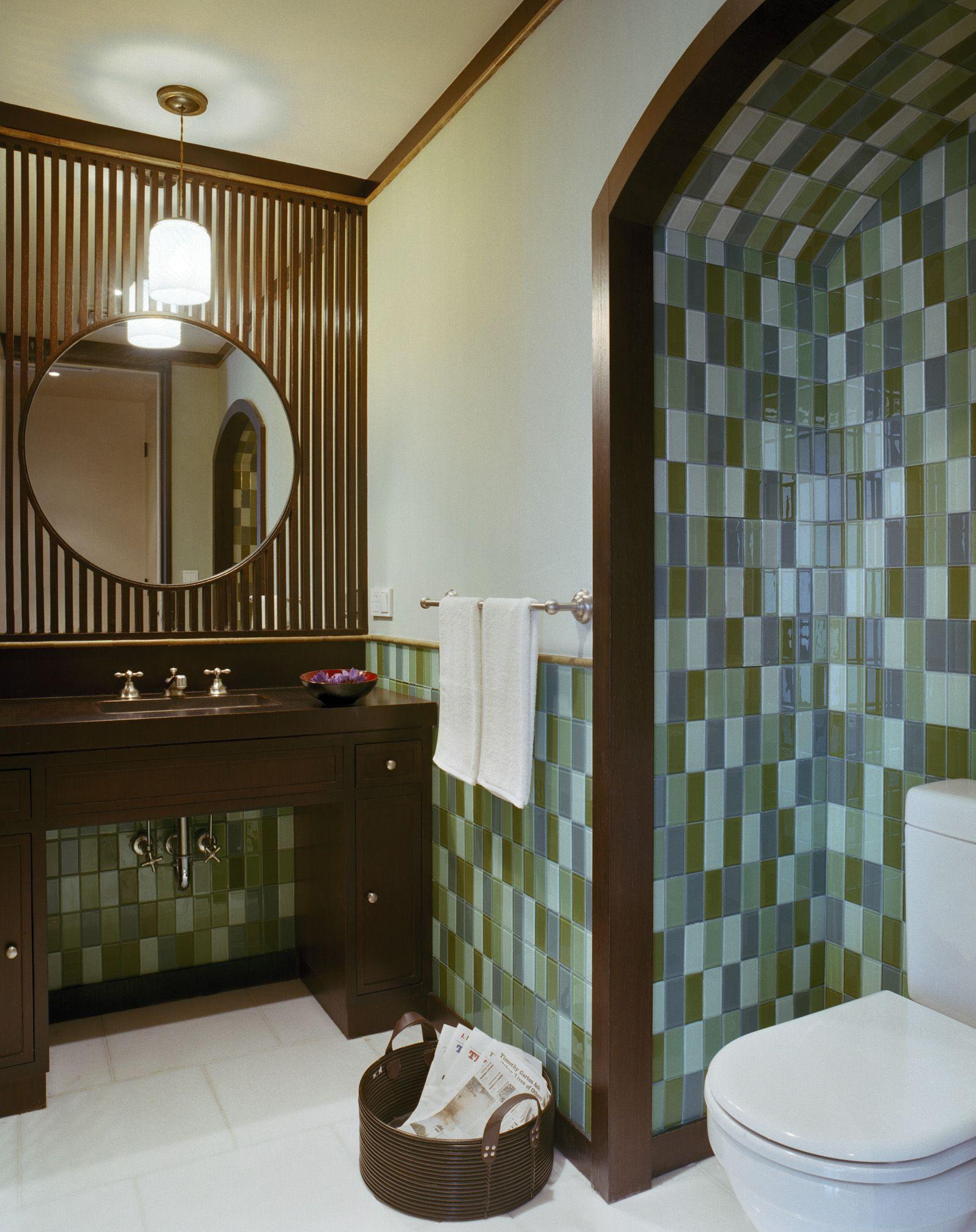 Beijing Penthouse, Bathroom, Beijing, 2007, BWArchitects