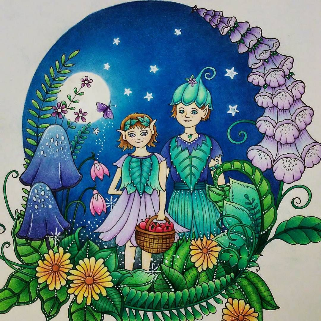 Pin by michelle c on Coloring Ivy | Pinterest | Elves, Johanna ...