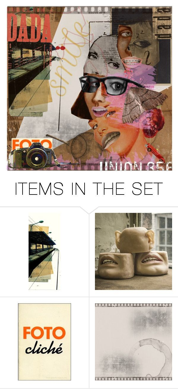 """""""207. DADA. side-eyes"""" by alodo ❤ liked on Polyvore featuring art"""