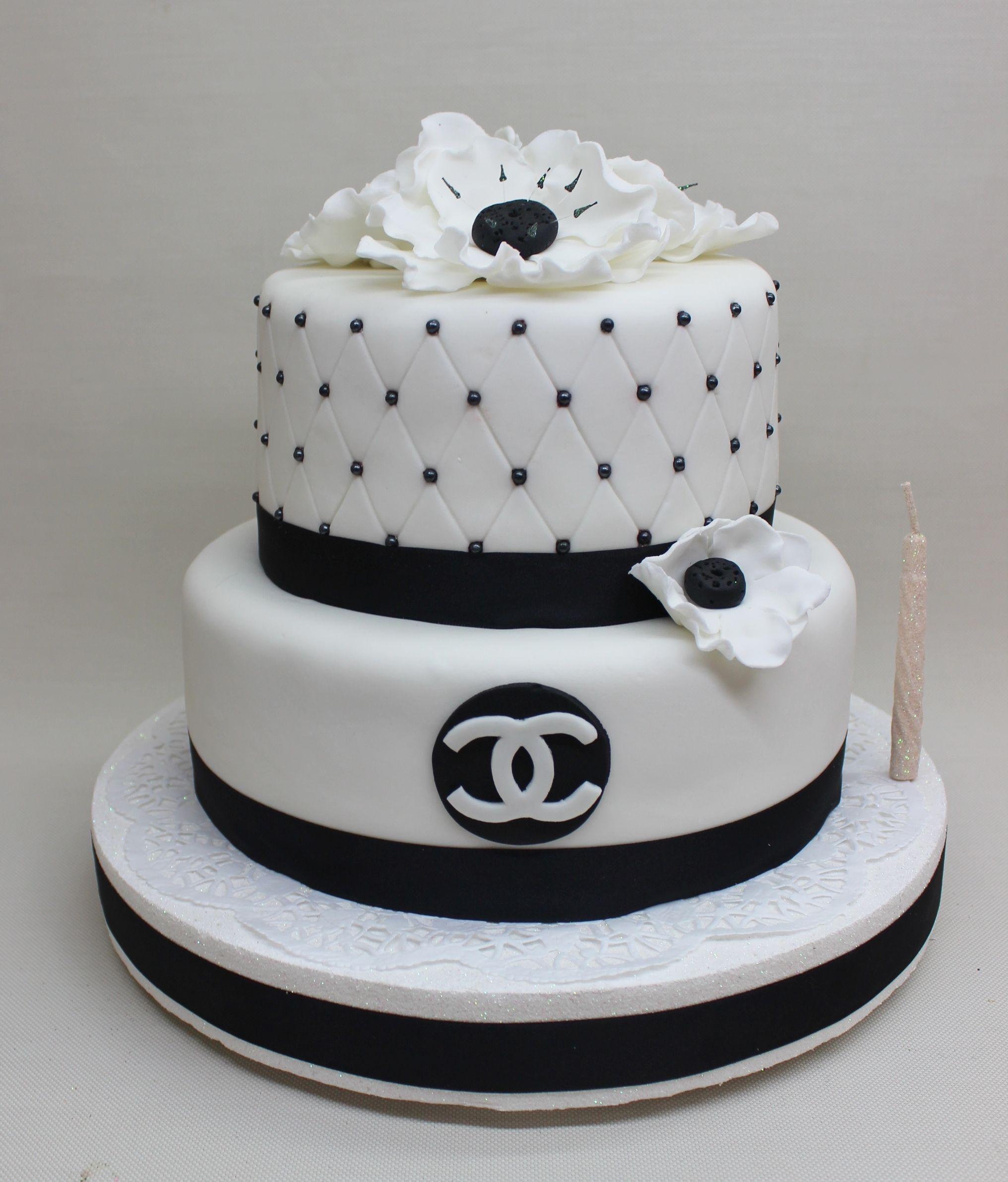 Chanel cake by violeta glace chanel cake birthday cake
