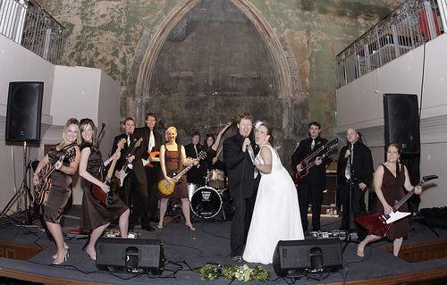 Rock N Roll Themed Wedding