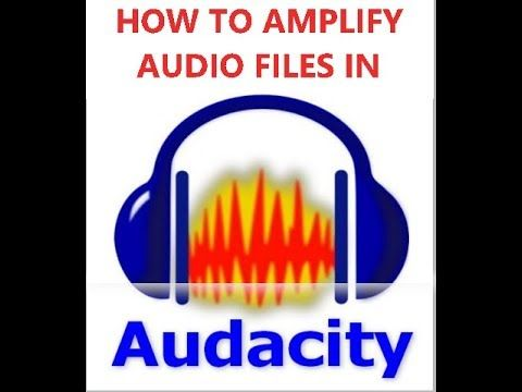 How to AMPLIFY MP3 (Any Audio) File in Audacity AUDACITY