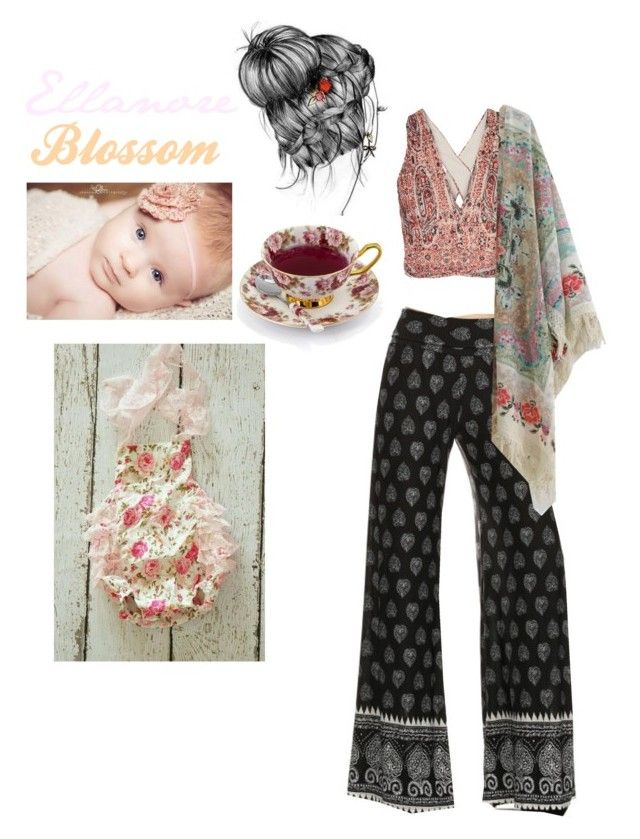 """Hippie Mother And Daughter"" by lol-horse ❤ liked on Polyvore featuring Alice + Olivia, Chicwish and TC Fine Intimates"
