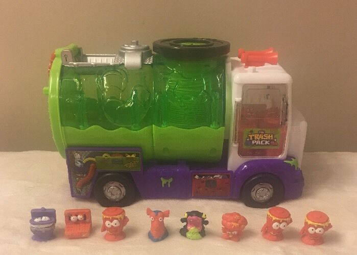 Item 4 The Trash Pack Dustbin Lorry Truck With Bin Toy Trashies