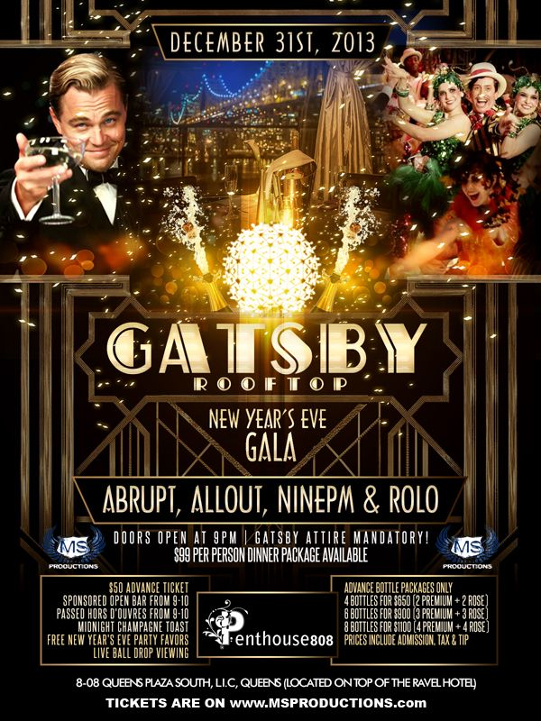 New Years Eve Party At Penthouse 808 At Ravel Hotel Gatsby