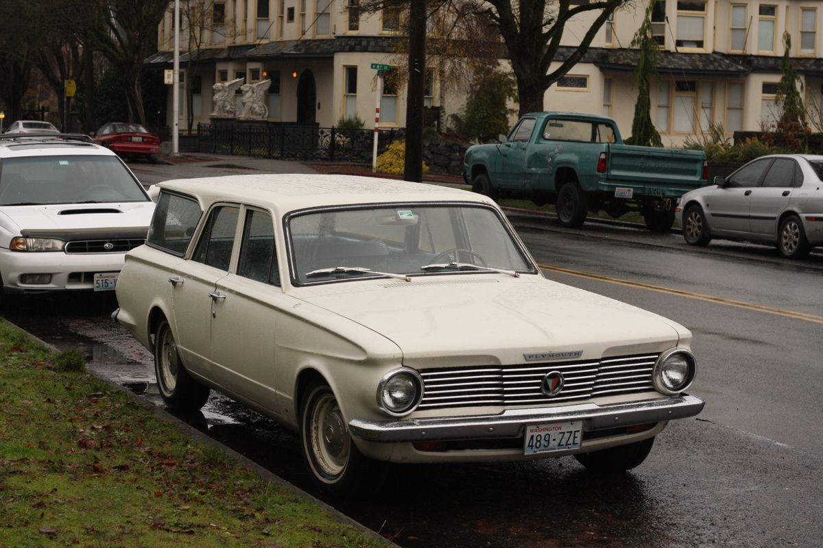 1964 Plymouth Valiant wagon. My fifth car and first wagon ...