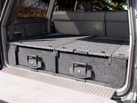 Slee 100 Series Drawer System Details Land Cruiser