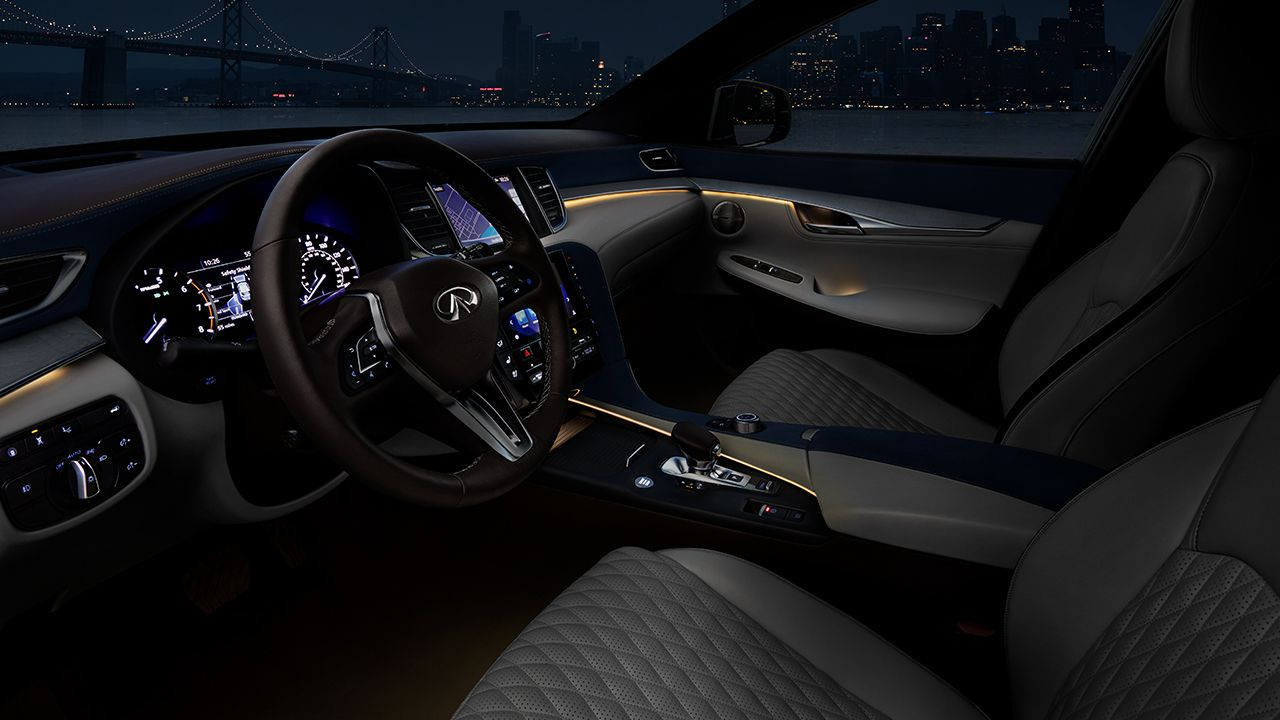 2019 Infiniti Qx50 Infiniti Luxury Crossover Driver Seating With Images Luxury Crossovers
