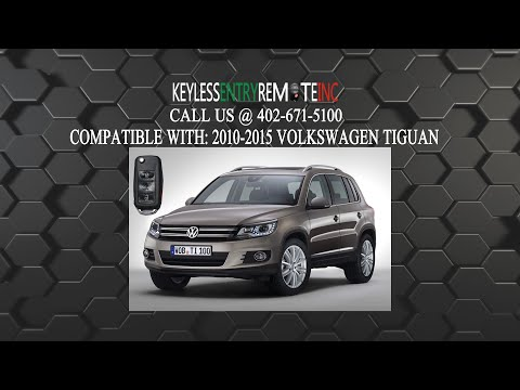 How To Change A 2010 2017 Volkswagen Tiguan Key Fob Remote
