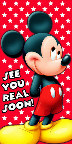 Image result for mickey mouse see you real soon