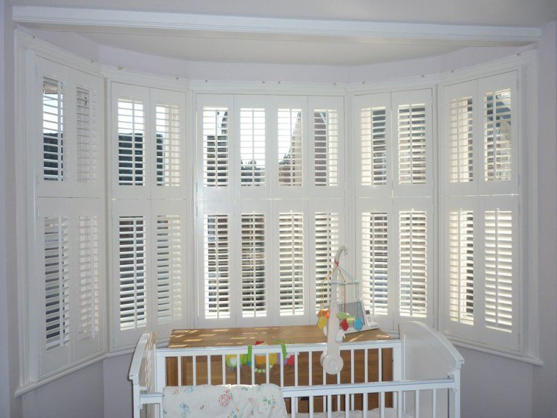 Interior window shutters must be composed carefully based on the ...