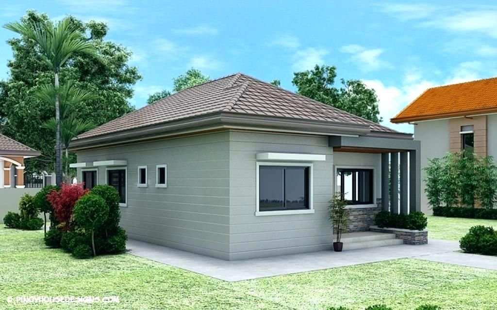 Icymi bungalow house design philippines low cost two bedroom also best dream images apartment plans plants rh pinterest