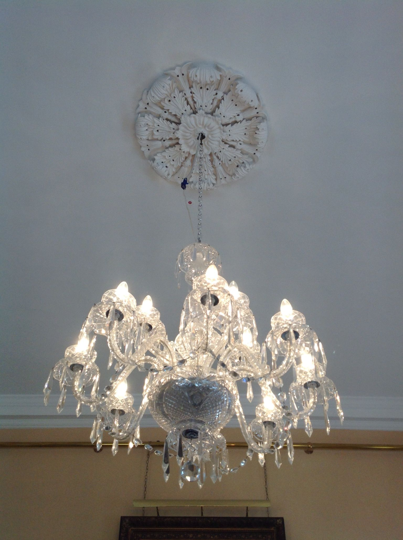 Antique Waterford chandelier in Waterford Ireland I have always