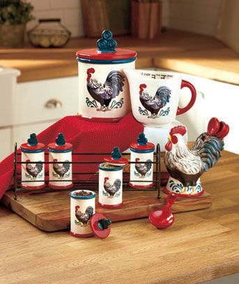 Rooster Kitchen Collection #kitchencollection