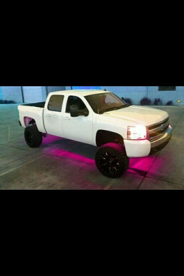 lifted white chevy black rims pinterest black rims lifted chevy and cars