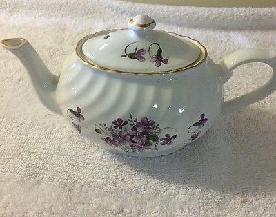 Chintz floral taza de té de madera 6432 Arthur & Son, Staffordshire, Inglaterra.  Est.  1884