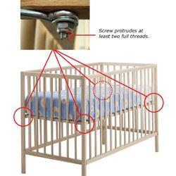 Product Recalls Ikea Sniglar Crib Cribs Ikea Crib