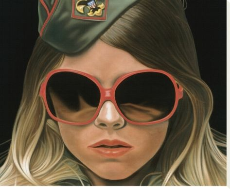 """waaaahhhhh. why so expensiiive. """"Scout"""" [crop] by Richard Phillips"""