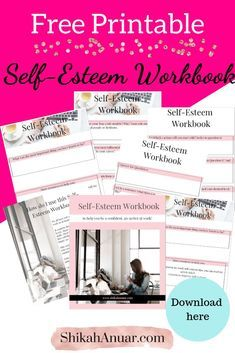 9-page workbook to help you be more confident at work - even if you have low self-esteem! Grab a pen...