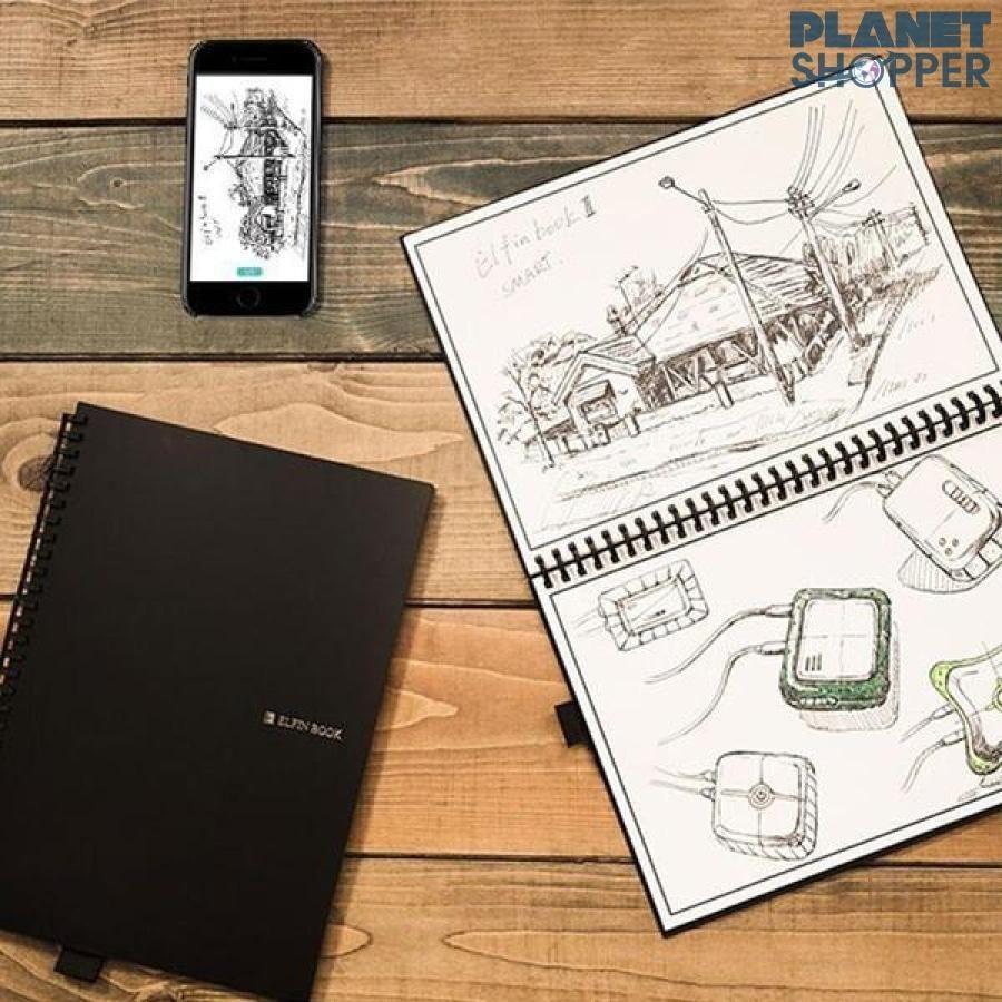 Elfinbook 2.0 Smart Erasable Notebook With Pen