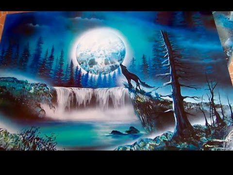 Como Dibujar El Cielo La Luna Y Las Estrellas Tutorial De Dibujo Youtube Spray Paint Art Spray Paint Artwork Art Painting