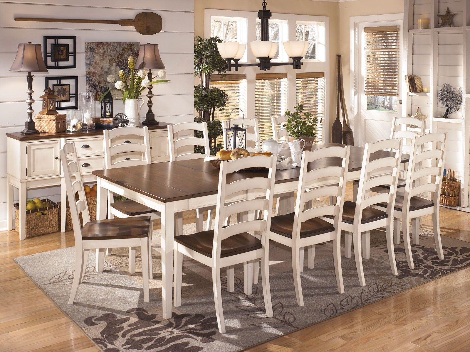 Holfield 11pcs Country Cottage Dining Set Store Retail 2500 Our