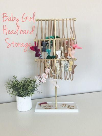 Baby Girl Headband Storage & Sweet Ellie Mae Bows - This FamiLee