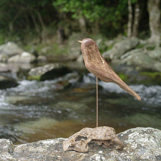 流木の鳥-259  2017    金澤 尚