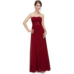 ever pretty damen empire taille schulterfrei lange abendkleider 09955  damen kleider festlich