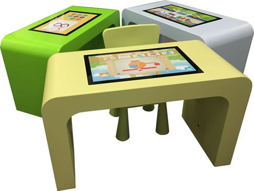 Pin By Waraba Diarra On Pupitre Led Android Touch Table Step Stool Interactive Design