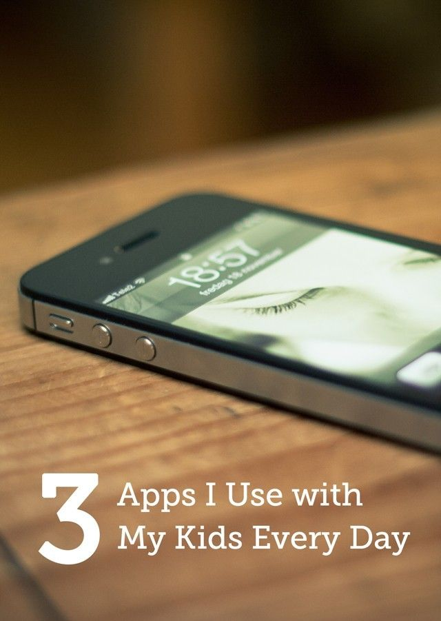 3 apps for everyday parenting Pinterest Apps and Parents - best spreadsheet apps free