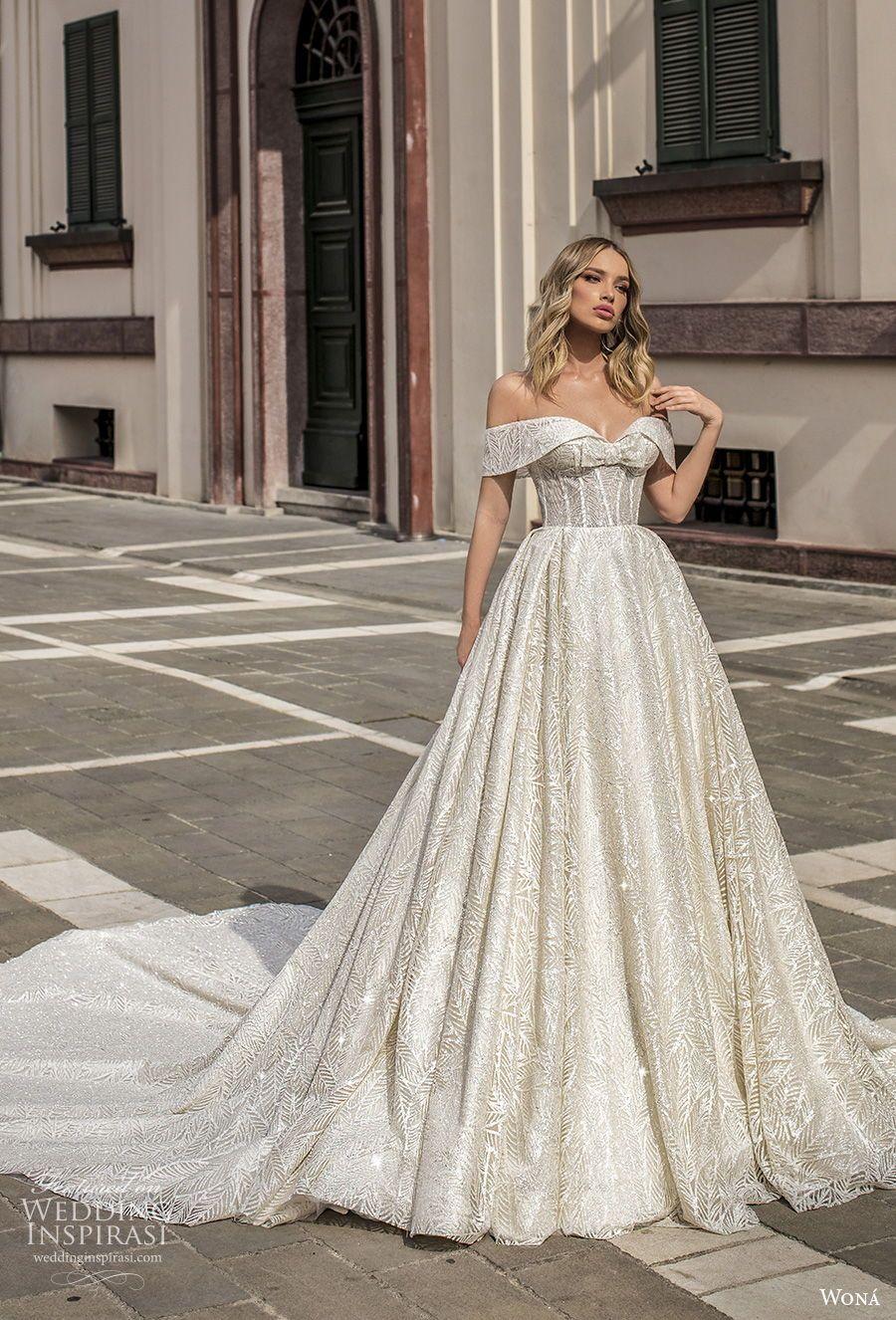 "WONÁ Couture 2020 Wedding Dresses — ""Aurora"" Bridal"