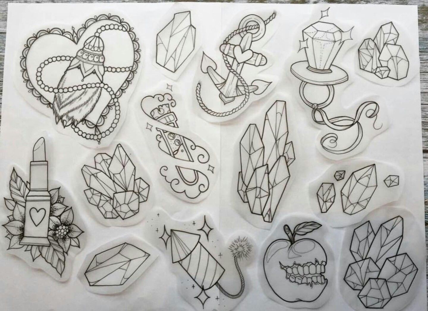 Victorian girly tattoo flash | Girly tattoos, Victorian ...  |Cool Drawings Flash Girly