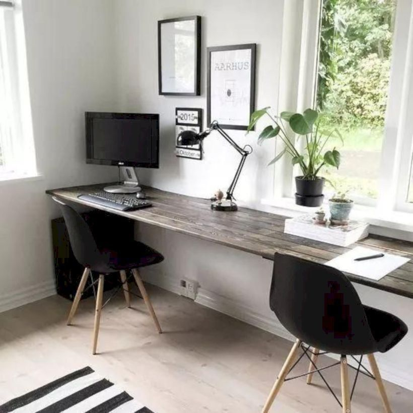 36 Affordable Home Office Decoration Ideas To Give You Chance To Do Some Business At Home Matchness Com Cheap Office Furniture Home Office Design Home