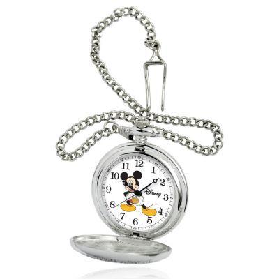 Disney® Mid-Size Quartz Mickey Mouse Pocket Watch