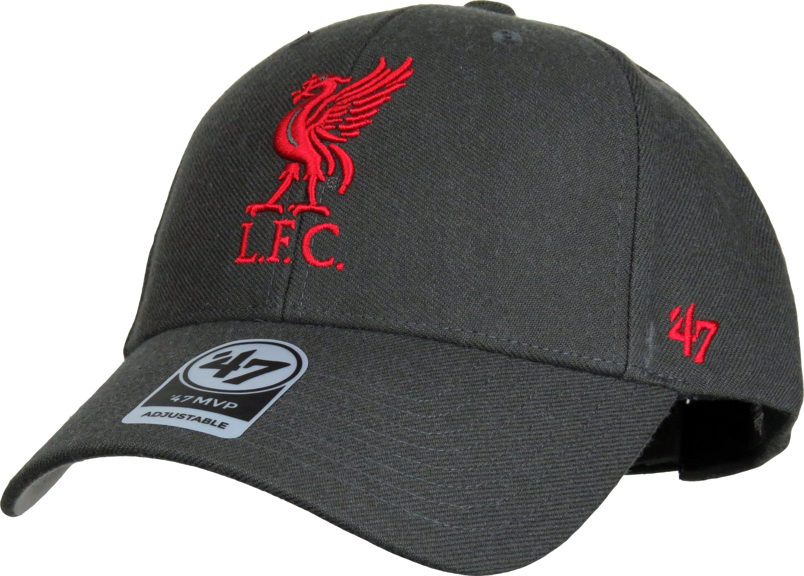 73de20162 Liverpool Football club 47 Brand MVP Adjustable Cap. Graphite Grey with the  Liverpool FC front