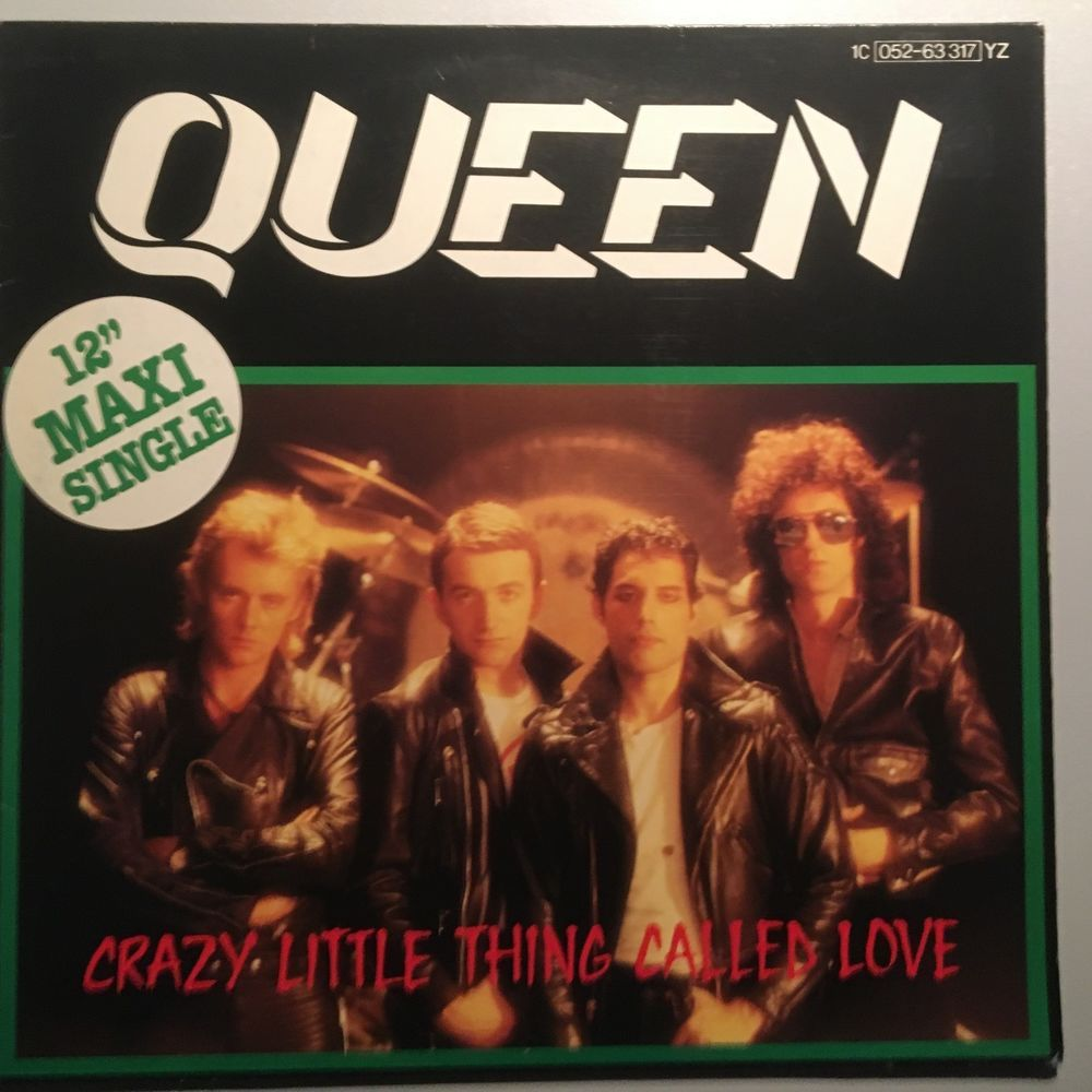 Queen Crazy Little Thing Called Love Germany 12 Beautiful Condition Muziek Zangers