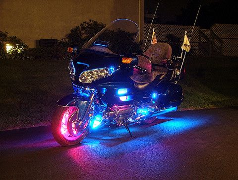 Goldwing Lighting Goldwing Cool Motorcycles Motorcycle Lights