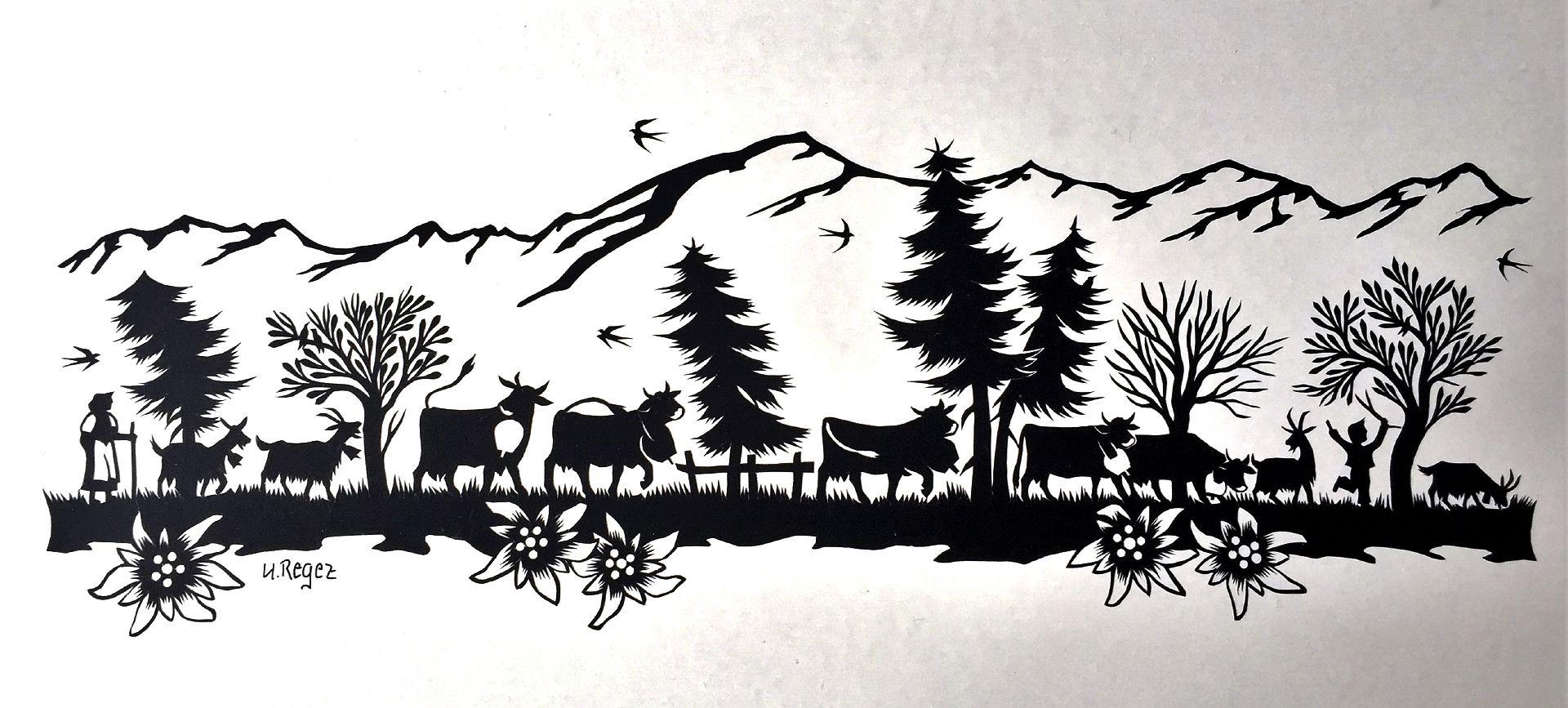 Bild vergr ssern papercut pinterest scherenschnitte for Vorlagen malerei