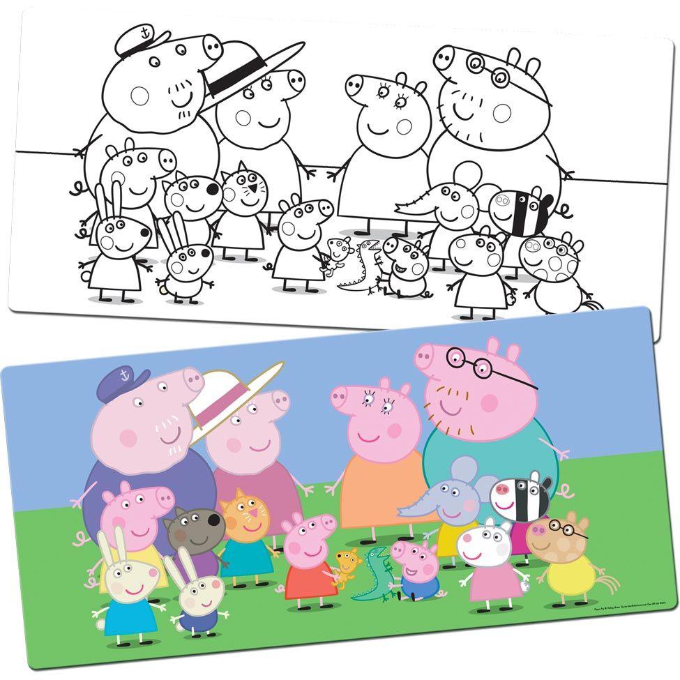 Imagenes De Peppa Pig Y Sus Amigos Para Colorear Peppa Pig