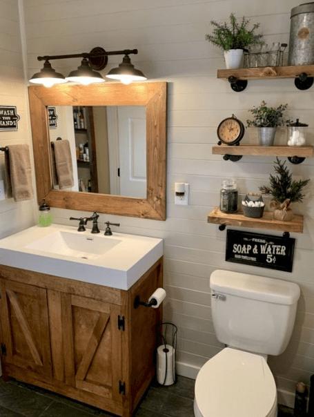 20 Small Bathroom Decoration Ideas Eweddingmag Com In 2020 Small Bathroom Decor Bathroom Design Cheap Bathrooms