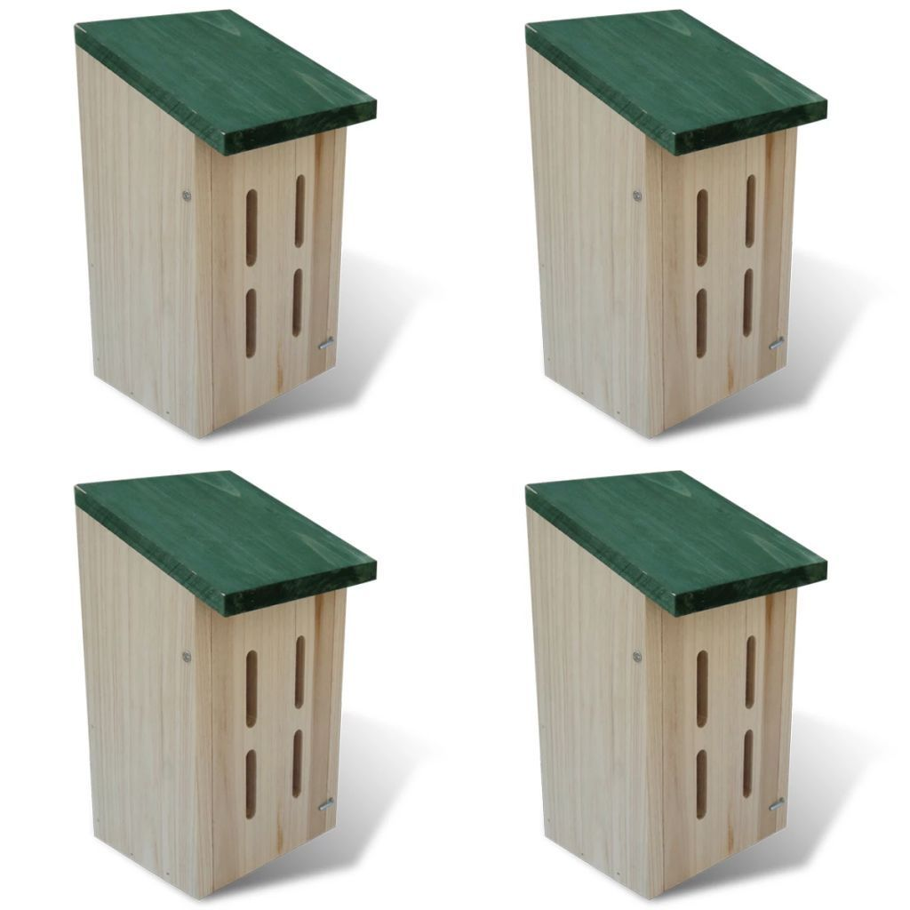 Butterfly House 14x15x22 cm Set of 4 Butterfly house