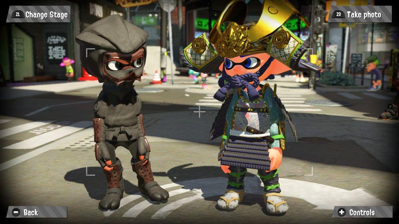splatoon amiibo gear, splatoon amiibo outfit, splatoon