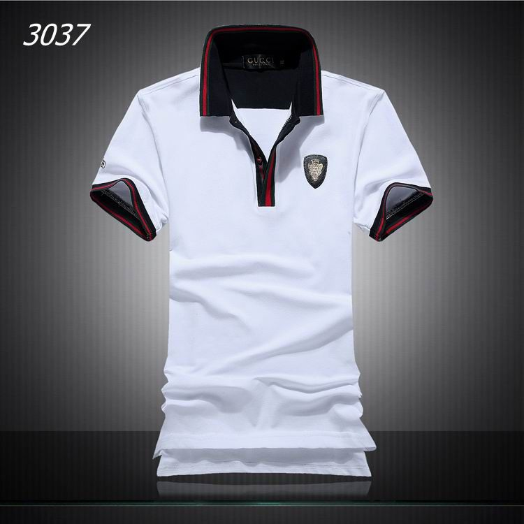 cb671fc99 Gucci Mens Polos | Dress en 2019 | Mens clothing styles, Gucci men y ...