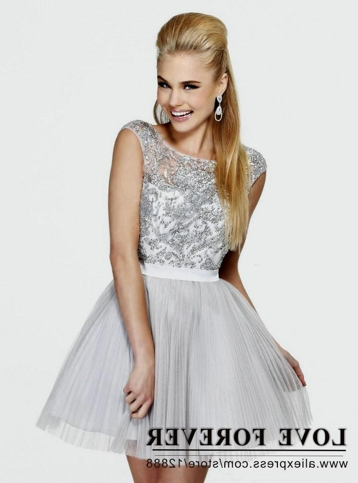 14a69e658fa Image result for silver and pink dresses. Cocktail dresses for juniors ...