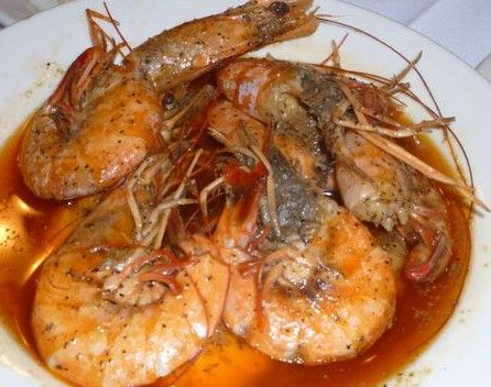 how to cook large shrimp