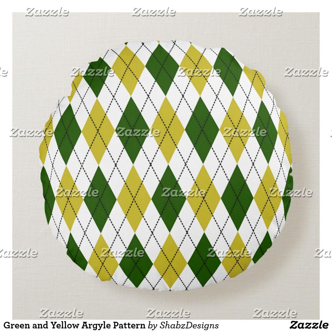 Argyle Decorative & Throw Pillows | Zazzle